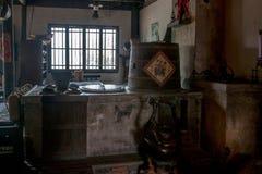 Wujiang miasto w antycznym miasteczku South Park Herbacianego domu scena Zdjęcie Royalty Free