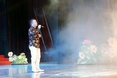 Wukezhou певицы поет Стоковое Фото