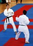 wuko карате чемпионатов европейское стоковые фотографии rf