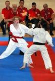 wuko карате чемпионатов европейское Стоковая Фотография RF