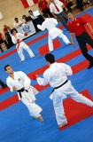 Wuko europäische Karate-Meisterschaften Stockfotos