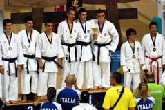 Wuko European Karate Championships Stock Image