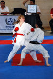 Wuko European Karate Championships Royalty Free Stock Photo
