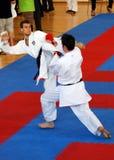 Wuko European Karate Championships Royalty Free Stock Images