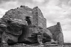 Wukoki Pueblo Ruin Royalty Free Stock Images