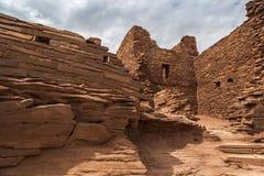 Wukoki Pueblo Ruin Stock Image