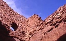 Wukoki Ruins. In Arizona royalty free stock image