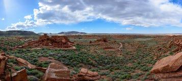 Wukoki ruins in Wupatki National Monument. Near San Francisco Peaks, Flagstaff, Arizona Royalty Free Stock Photos