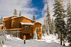 Wuksachi Lodge in Winter Stock Images