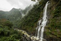 Wulai-Wasserfall in Taiwan stockfoto