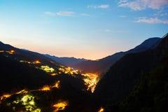 Wulai wioska w Tajwan fotografia stock