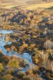 Wulanbutong-Wiesen Lizenzfreies Stockbild