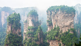 Wulingyuan Fotografie Stock