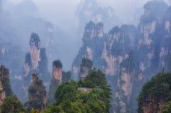Wulingyuan Scenic Area Zhangjiajie China Royalty Free Stock Image