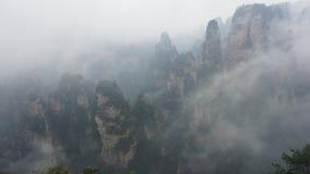 Wulingyuan sceniskt och historiskt intresseområde royaltyfri bild