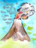Wulkan Obraz Stock