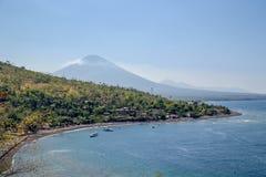 Wulkan Agung w Bali, Indonezja Zdjęcie Royalty Free