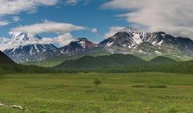wulkan gruntów Zdjęcie Stock