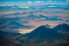 Wulkan Licancabur Obraz Stock
