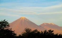 Wulkan Licancabur Zdjęcia Royalty Free