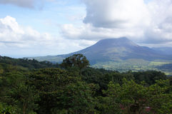Wulkan Poas, Costa Rica Zdjęcie Stock