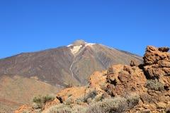Wulkan Teide w Tenerife, Hiszpania Zdjęcia Stock