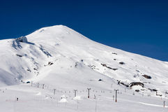 Wulkan Villarrica zdjęcie royalty free