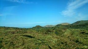 wulkaniczna krajobrazu Zdjęcie Royalty Free