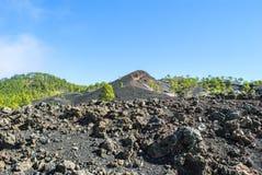 wulkaniczna krajobrazu fotografia royalty free