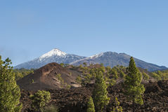 wulkaniczna krajobrazu fotografia stock
