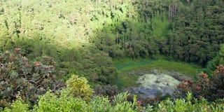 Wulkanu krater Zdjęcie Royalty Free