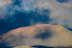 Wulkanu krater obrazy royalty free
