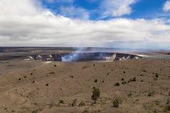 Wulkanu park narodowy Obraz Royalty Free