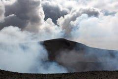 Wulkanu Yasur erupcja Obrazy Stock