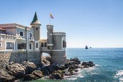 Wullf Castle - Castillo Wulff - Vina del Mar, Chile. Wullf Castle - Castillo Wulff in Vina del Mar, Chile royalty free stock photography