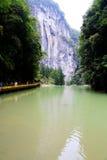 Wulong Krajowy Geological park Zdjęcia Royalty Free
