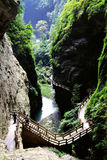 Wulong National  Geological Park Stock Photo