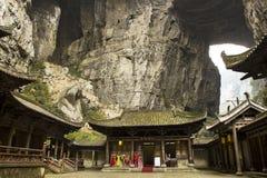 Wulong park narodowy, Chongqing, Chiny Obraz Stock