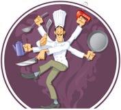 Wunder-Koch lizenzfreie abbildung