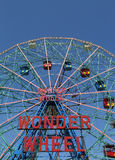 Wunder-Rad am Coney Island-Vergnügungspark Stockbild