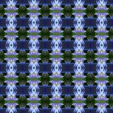 Wunderbar vom blauen Lotos nahtlos lizenzfreie abbildung