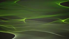 Wunderbare eco Animation mit beweglichem Wellengegenstand, Schleife HD 1080p stock video footage
