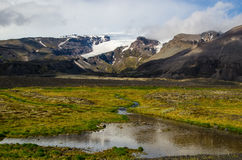 Wunderbare isländische Naturlandschaft Stockfoto