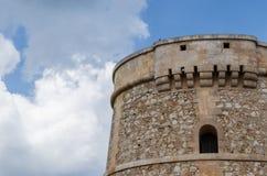 Wunderbare Landschaft in Alcaufar-Wachturm stockbilder