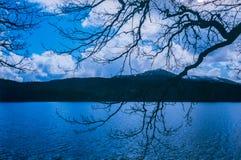 Wunderbare Landschaft von Loch Ness lizenzfreies stockfoto