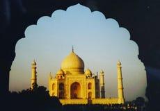Wunderbare Taj Mahal lizenzfreie stockfotos
