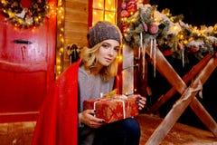 Wunderbare Weihnachtsüberraschung stockfotografie
