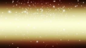 Wunderbare Weihnachtsanimation mit beweglichen Schneeflocken, Schleife HD 1080p lizenzfreie abbildung