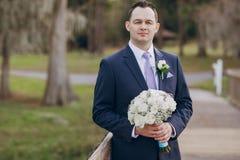 Wunderbarer Hochzeitstag Stockfotografie