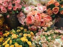 Wunderbarer Luxushochzeitsblumenstrauß stockbilder